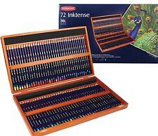 Derwent Inktense Pencils 72 Wooden Box Set - Latest Style