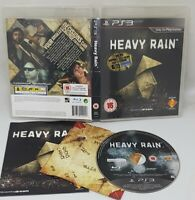 Heavy Rain PS3 PlayStation 3 Video Game Excellent Condition UK Release