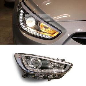 OEM Genuine Parts LED Head Light Lamp RH For HYUNDAI 2011-17 Verna Accent Sedan