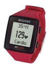 Sigma Sport iD.LIFE Sportuhr Activity Tracker Puls-/Herzfrequenzmesser Rouge
