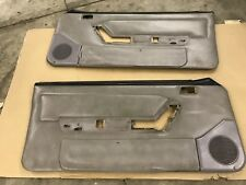 90-93 Ford Mustang Titanium Gray Door Panels Factory OEM Hatchback Coupe GT LX