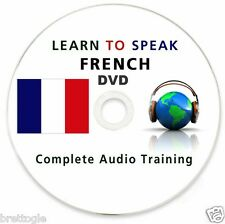 Learn to Speak French - 110 Hours Mp3 Lessons 10 Books Complete Course on DVD