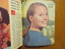 1967 Washin Evening Star TV Mag(LEIGH TAYLOR-YOUNG/MAGGIE PETERSON/INGER STEVENS