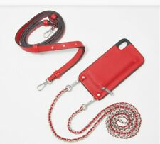 HERA Crossbody XR iPhone Case with w  Extra Strap - Red - Hands Free -wallet