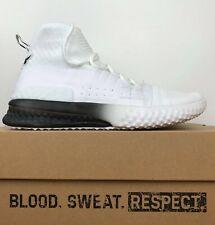 Under Armour UA Project Rock 1 Training Shoes White 3020788-102 Men's Size 9.5
