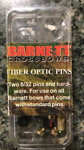 Barnett Crossbows Fiber Optic Pins Two 8/32 Pins and Hardware