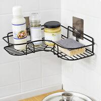 Bathroom Shower Shelf Corner Bath Storage Holder Organizer Rack Stainless Steel