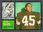 1962 TOPPS FOOTBALL HIGH GRADE SET BREAK #36 ERNIE DAVIS                    EXMT