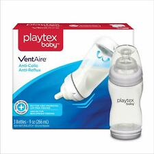 Playtex Baby Ventaire Anti Colic Baby Bottle Bpa Free 9 Ounce 3 Count