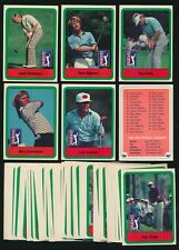 1982 Donruss GOLF Series -Complete Set (66) w/ NICKLAUS, TREVINO, WATSON, etc.