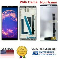 WOW For Coolpad Legacy CP3705AS Boost Mobile LCD Screen Touch Digitizer Frame