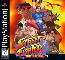 Street Fighter Collection - PS1 PS2 Playstation Game