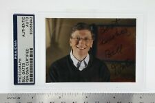 Bill Gates Signed Photograph - Autograph Authentic Coa from Psa - Sealed/Slabbed