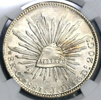 1881-C MGC MS 63+ Mexico 8 Reales Culiacan Mint Silver Coin POP 1/3 (18120503C)