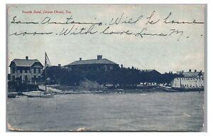 Early! Seaside Hotel CORPUS CHRISTI TX Vintage Texas Postcard