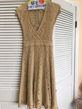 """S New Anthropologie Moth Knit  """"Crocheted Clouds Dress""""  Very Rare"""