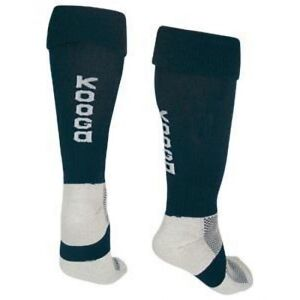 30 KOOGA rugby TECH MATCH SOCKS ADULTS PADDED FOOT COLOUR BLACK  7 TO 12