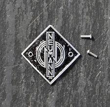 NEUMANN ORIGINAL U47/ U48 Microphone Badge/Logo -  1950's