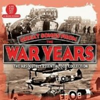 GREAT SONGS FROM THE WAR YEARS 3 CD NEW!