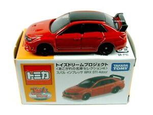 TOMICA / Subaru Impreza WRX STI 4 Door (Red) / TOY'S DREAM PROJECT.