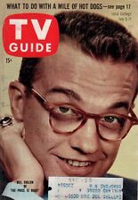 1958 TV Guide July 5 - Casey Stengel; Kites; Sky King;Lee Marvin on a Motorcycle