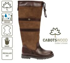 Cabotswood Banbury Oak/Bison Ladies Boot Size EU39 UK6 Waterproof Equestrian