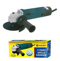 600WATT ANGLE GRINDER IN COLOUR BOX SET 4 ½ 115MM DIY TOOL KIT DICS POWER 67063c