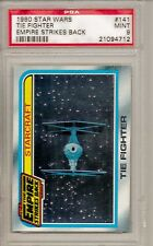 1980 STAR WARS #141 TIE FIGHTER - EMPIRE STRIKES BACK  PSA 9  MINT