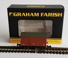 Graham Farish No. 377-985, 12T Eastern Ventilated Fruit Van BR Bauxite, - Mint.