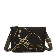 Kipling Pouch Crossbody Bag MAI POUCH BLACK FLOWER Print RRP £48