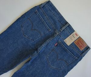 LEVI'S 711 SKINNY PRINTED Jeans Women's, Authentic BRAND NEW (188810422)