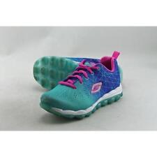 Scarpe sneakers con lacci blu per bambine dai 2 ai 16 anni
