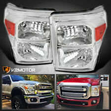 2011-2016 Ford F250 F350 F450 F550 SuperDuty Replacement Headlights Left+Right