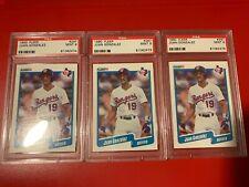 Juan Gonzalez Rangers Lot (3) 1990 Fleer Card Rookie #297 PSA 9
