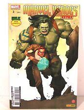 "bd comics MARVEL "" MARVEL HEROES EXTRA "" n° HULK panini comics septembre 2010"
