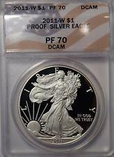 2011-W American Silver Eagle ANACS PF70 DCAM