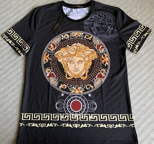 versac medusa Baroque shirt