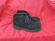 Havana Joe black Suede Chukka Ankle Boots EU 45 US 11 Made In Spain