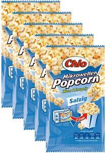 Chio Mikrowellen Popcorn Salzig - 5 Packungen je 100 Gramm