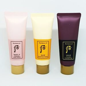 The History of Whoo Facial Cleansing Foam Set 40ml x 3ea Anti Aging K-Beauty