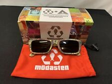 Mōdasten Beetnix Polarized Recycled Skateboard Sunglasses NIB