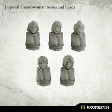 Kromlech BNIB Imperial Guardswoman torsos and heads (5) KRCCB150