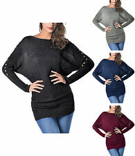 Cotton Plus Size Batwing Tops & Shirts for Women