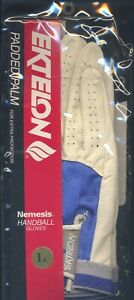 Ektelon Nemesis Padded Leather Handball Gloves - NEW