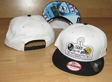 SUPER BOWL XLV Pittsburgh Steelers vs Green Bay Packers 9FIFTY SNAPBACK HAT CAP
