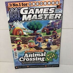 Games Master Magazine Issue 265 JULY 2013 ANIMAL CROSSING NEW LEAF
