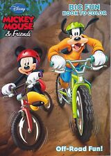 Disney Mickey Mouse Coloring Book ~ Off-Road Fun! - FREE SHIPPING