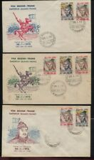 Viet Nam Sc #408-411 on Eleven Different Cacheted First Day Covers