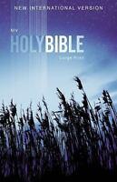 NIV, Outreach Bible, Large Print, Paperback: By Zondervan