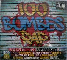 5xCD 100 BOMBES RAP Sexion d'Assaut DJ Pone Zoxea Riposte Corneille Fouine TTC